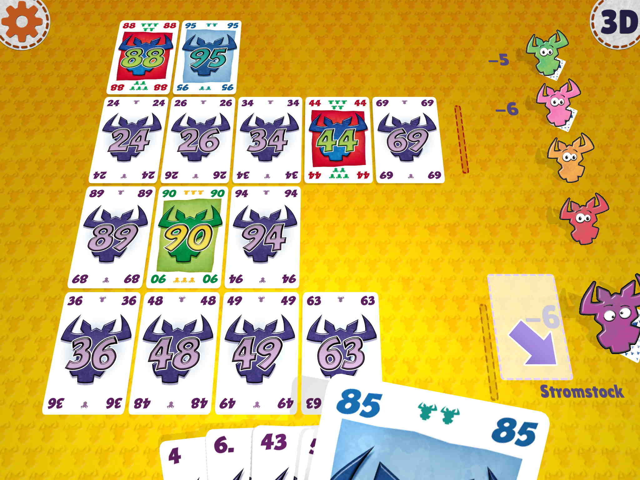 Kartenspiel Hornochse